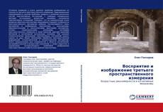 Bookcover of Восприятие и изображение третьего пространственного измерения