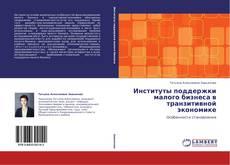 Обложка Институты поддержки малого бизнеса в транзитивной экономике