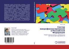 Сектор микрофинансирования в Российской Федерации kitap kapağı