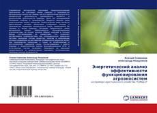 Bookcover of Энергетический анализ эффективности функционирования агроэкосистем