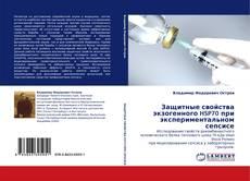 Bookcover of Защитные свойства экзогенного HSP70 при экспериментальном сепсисе