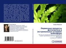 Buchcover von Первичные процессы фотосинтеза в экстремальных условиях атмосферы