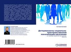 Bookcover of Детерминанты социально-пространственной локализации населения