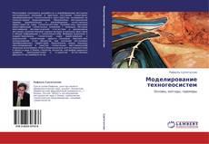 Моделирование техногеосистем kitap kapağı