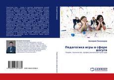 Bookcover of Педагогика игры в сфере досуга