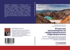 Bookcover of Открытие закономерности гидротермального нафтоидогенеза