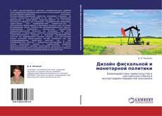 Bookcover of Дизайн фискальной и монетарной политики