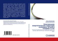 Bookcover of Электронная энергетическая структура купридов титана и сплавов CuTiNi