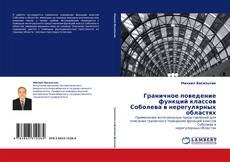 Bookcover of Граничное поведение функций классов Соболева в нерегулярных областях