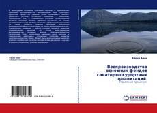 Обложка Воспроизводство основных фондов санаторно-курортных организаций.