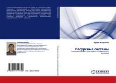 Buchcover von Ресурсные системы