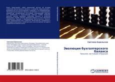 Bookcover of Эволюция бухгалтерского баланса