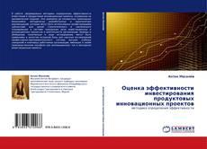 Обложка Оценка эффективности инвестирования продуктовых инновационных проектов