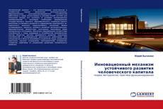 Bookcover of Инновационный механизм устойчивого развития человеческого капитала