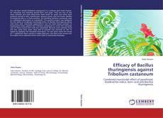 Обложка Efficacy of Bacillus thuringiensis against Tribolium castaneum