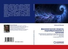 Обложка Динамическая модель порообразования в кремнии