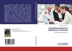 Обложка Развитие малого бизнеса в России