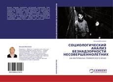 Bookcover of СОЦИОЛОГИЧЕСКИЙ АНАЛИЗ БЕЗНАДЗОРНОСТИ НЕСОВЕРШЕННОЛЕТНИХ
