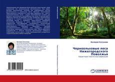 Copertina di Черноольховые леса Нижегородского Поволжья