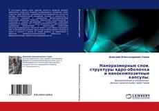 Обложка Наноразмерные слои, структуры ядро-оболочка и нанокомпозитные капсулы: