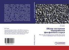 Capa do livro de Обзор состояния переработки фосфатного сырья
