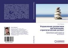 Bookcover of Управление развитием организации: стратегический аспект