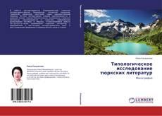 Capa do livro de Типологическое исследование тюркских литератур