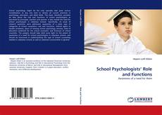 School Psychologists'' Role and Functions kitap kapağı