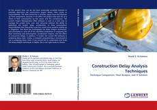 Buchcover von Construction Delay Analysis Techniques