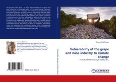 Bookcover of Vulnerability of the grape and wine industry to climate change