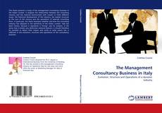 Couverture de The Management Consultancy Business in Italy