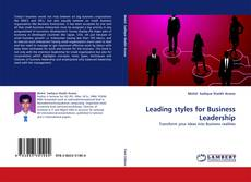 Обложка Leading styles for Business Leadership