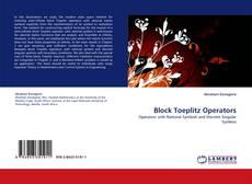 Couverture de Block Toeplitz Operators