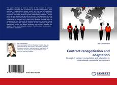 Bookcover of Contract renegotiation and adaptation