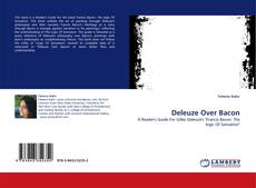 Portada del libro de Deleuze Over Bacon