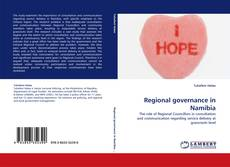 Bookcover of Regional governance in Namibia