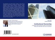 Bookcover of Institutional Ownership