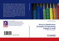 Bookcover of Resource Mobilization Strategies of Engineering Colleges in India