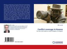 Buchcover von Conflict coverage in Kosovo
