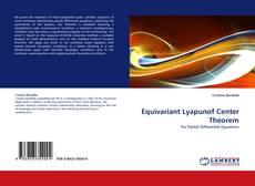 Bookcover of Equivariant Lyapunof Center Theorem
