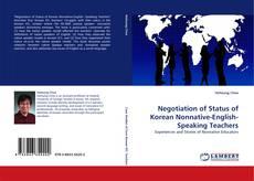 Copertina di Negotiation of Status of Korean Nonnative-English-Speaking Teachers