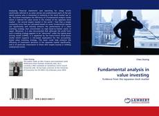 Copertina di Fundamental analysis in value investing