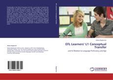 EFL Learners' L1 Conceptual Transfer kitap kapağı