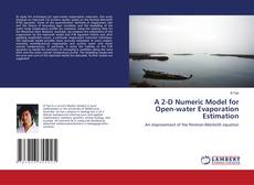 Bookcover of A 2-D Numeric Model for Open-water Evaporation Estimation