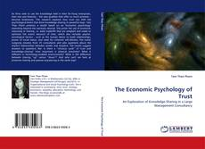 Bookcover of The Economic Psychology of Trust
