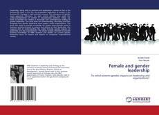 Capa do livro de Female and gender leadership
