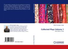 Bookcover of Collected Plays Volume 1