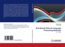 Bookcover of Rule-Based Natural Language Processing Methods