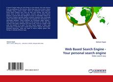Buchcover von Web Based Search Engine - Your personal search engine