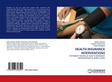 Couverture de HEALTH INSURANCE INTERVENTIONS